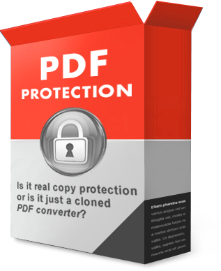 Copy protection software for PDF